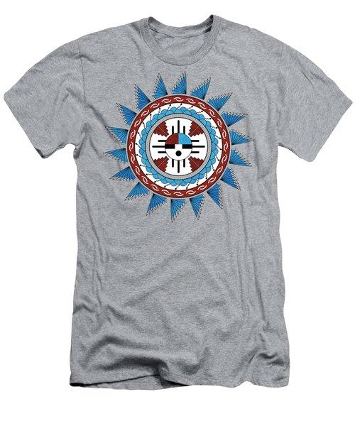 Southwest Native American Art Mandala Men's T-Shirt (Athletic Fit)
