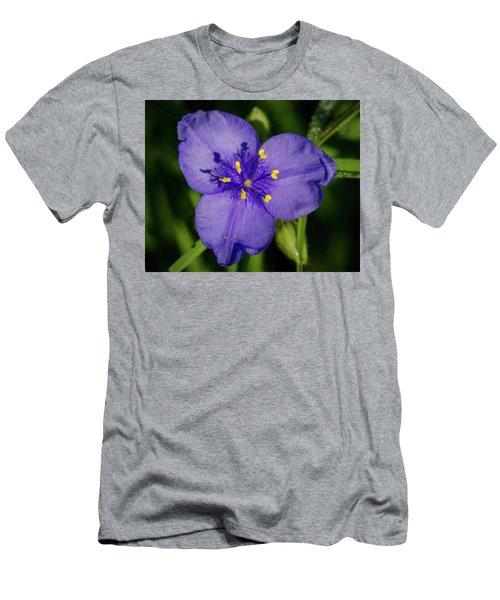 Spiderwort Flower Men's T-Shirt (Athletic Fit)