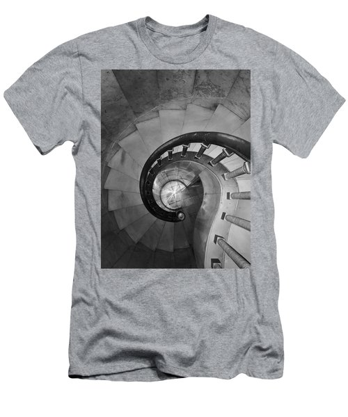 Spiral Staircase, Lakewood  Cemetary Chapel Men's T-Shirt (Athletic Fit)