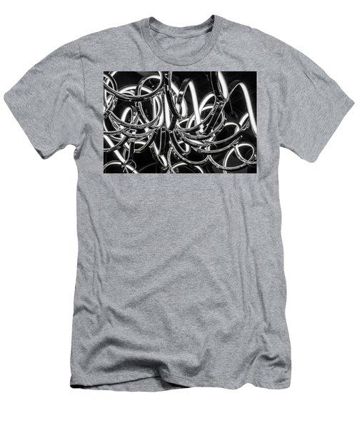 Spirals Of Light Men's T-Shirt (Athletic Fit)