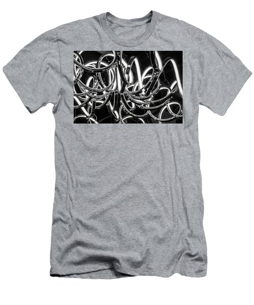 Spirals Of Light Men's T-Shirt (Athletic Fit)