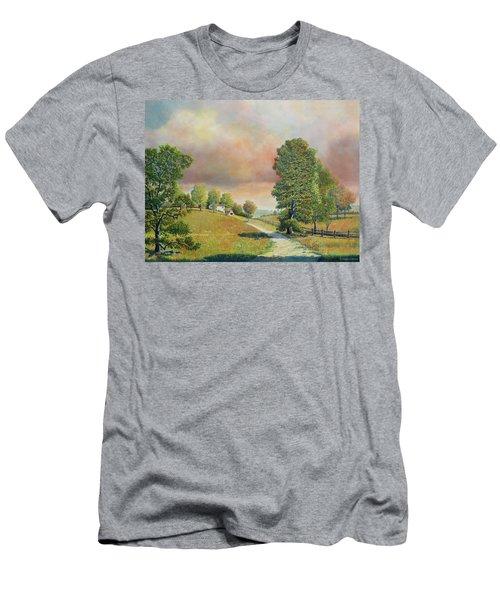Spring Path Men's T-Shirt (Athletic Fit)