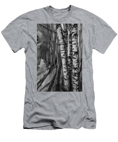springtime ligh BW #i6 Men's T-Shirt (Athletic Fit)