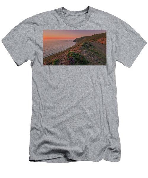 St Agnes Sunset Men's T-Shirt (Athletic Fit)