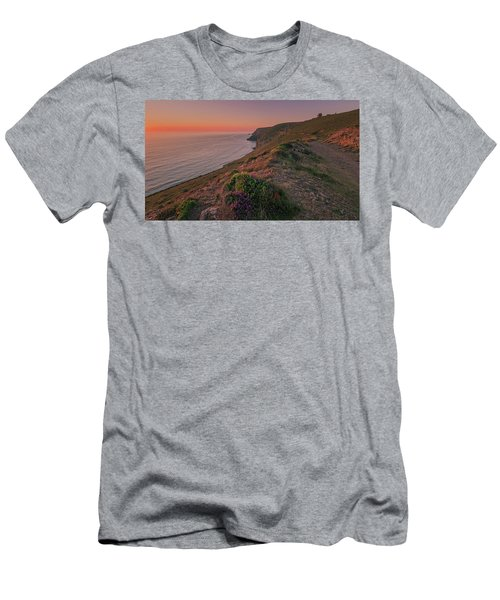 St Agnes Sunset Men's T-Shirt (Athletic Fit)