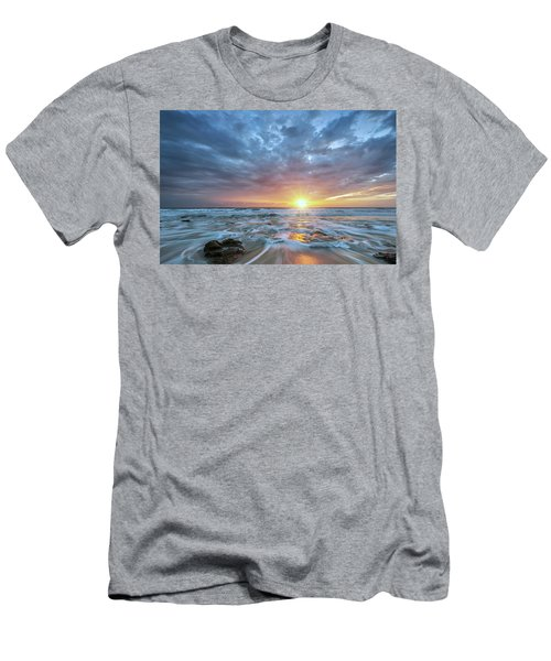 St. Augusting Sunrise  Men's T-Shirt (Athletic Fit)