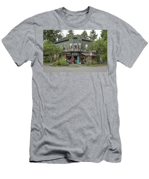 Men's T-Shirt (Athletic Fit) featuring the photograph St George St. And E 28th by Juan Contreras