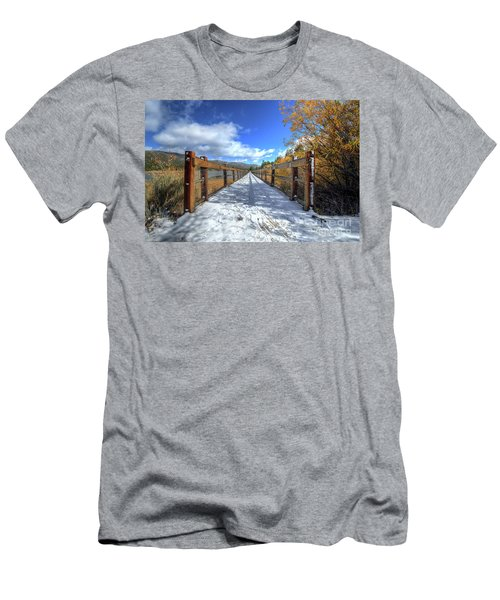 Stanfield Marsh Wildlife And Waterfowl Preserve Bridge Men's T-Shirt (Athletic Fit)