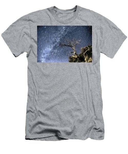 Star Trail Wonder Men's T-Shirt (Athletic Fit)