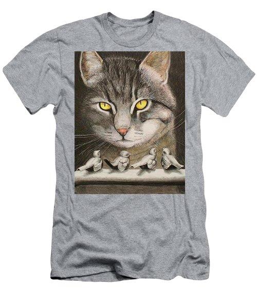 Steel Birds Men's T-Shirt (Athletic Fit)