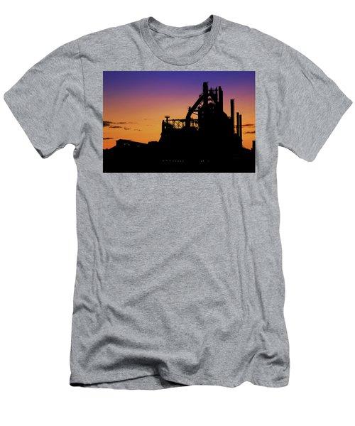 Steel City Sunrise Men's T-Shirt (Athletic Fit)