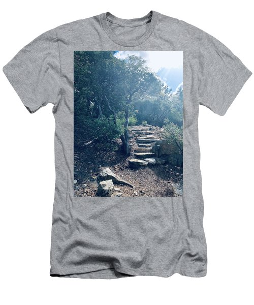 Steps To Enlightenment  Men's T-Shirt (Athletic Fit)