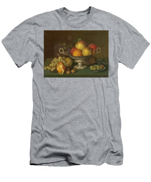 Still Life With Fruit, 1844 Men's T-Shirt (Athletic Fit)
