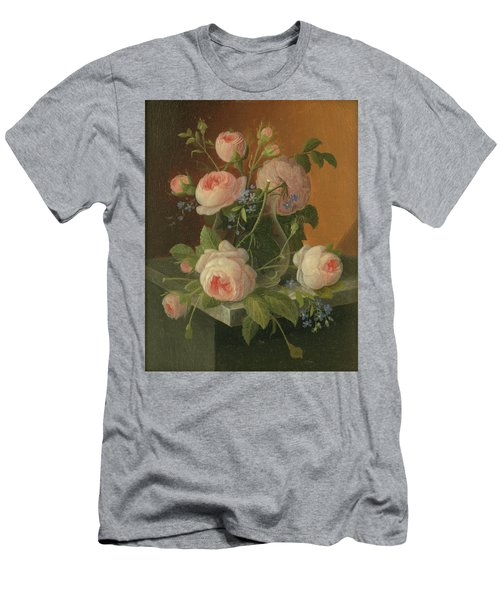 Still Life With Roses, Circa 1860 Men's T-Shirt (Athletic Fit)
