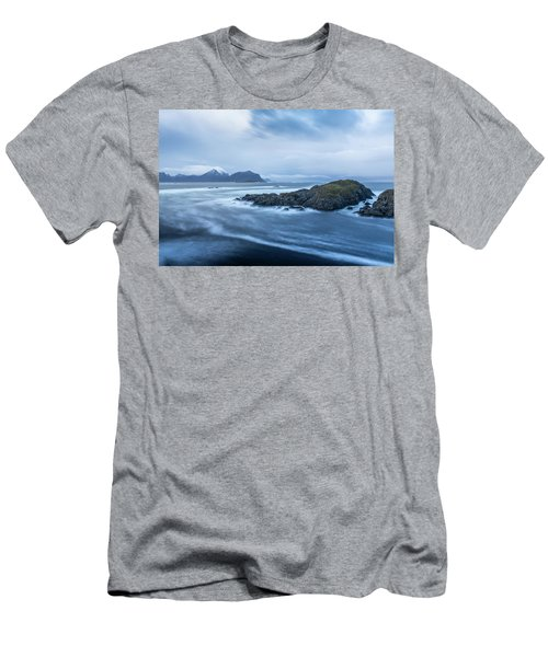 Still Rocks In The Storm Men's T-Shirt (Athletic Fit)