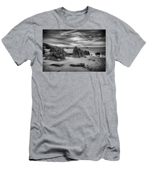 Men's T-Shirt (Athletic Fit) featuring the photograph Storm At Leo Carrillo by John Rodrigues