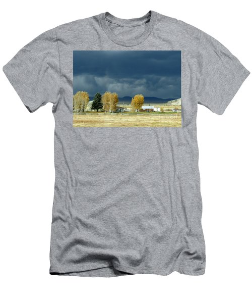 Men's T-Shirt (Athletic Fit) featuring the photograph Storm Brewing by Rosanne Licciardi