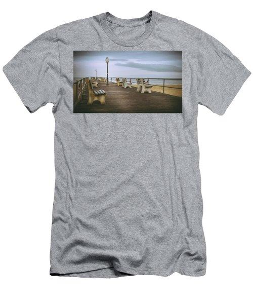 Stormy Boardwalk 2 Men's T-Shirt (Athletic Fit)