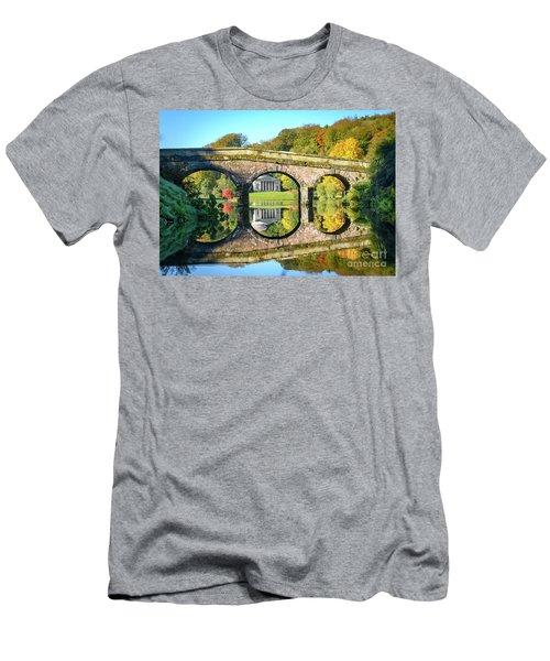 Stourhead Autumn Men's T-Shirt (Athletic Fit)