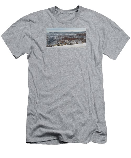 Striped Overview Men's T-Shirt (Athletic Fit)
