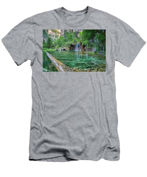 Submerged Log, Hanging Lake Colorado Men's T-Shirt (Athletic Fit)