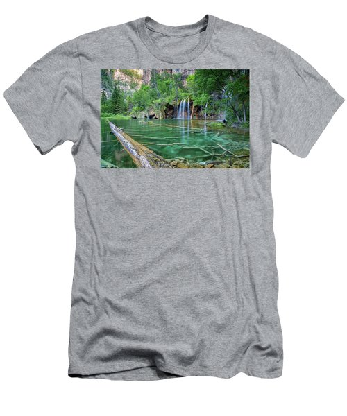 Submerged Log, Hanging Lake Colorado Men's T-Shirt (Athletic Fit)