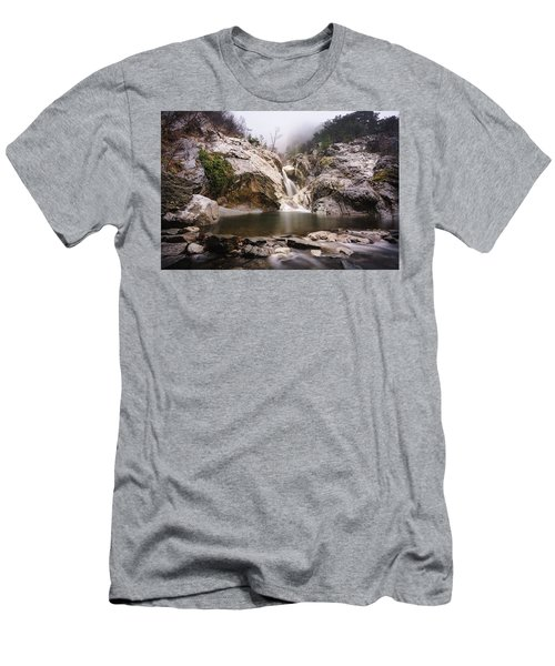 Suchurum Waterfall, Karlovo, Bulgaria Men's T-Shirt (Athletic Fit)