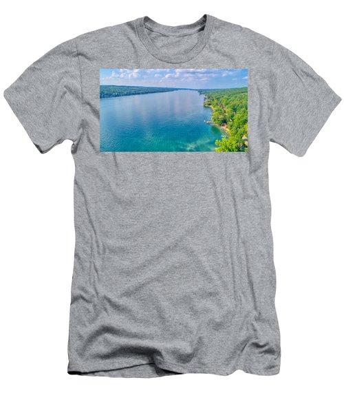 Summer On Keuka Lake Men's T-Shirt (Athletic Fit)