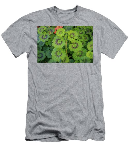 Summer Leaves Men's T-Shirt (Athletic Fit)