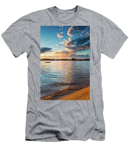 Summer Shower  Men's T-Shirt (Athletic Fit)