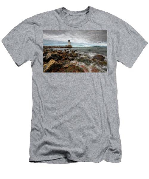 Summer Tides At Bug Light Men's T-Shirt (Athletic Fit)