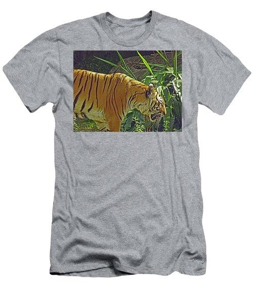 Sun Tanning  Men's T-Shirt (Athletic Fit)