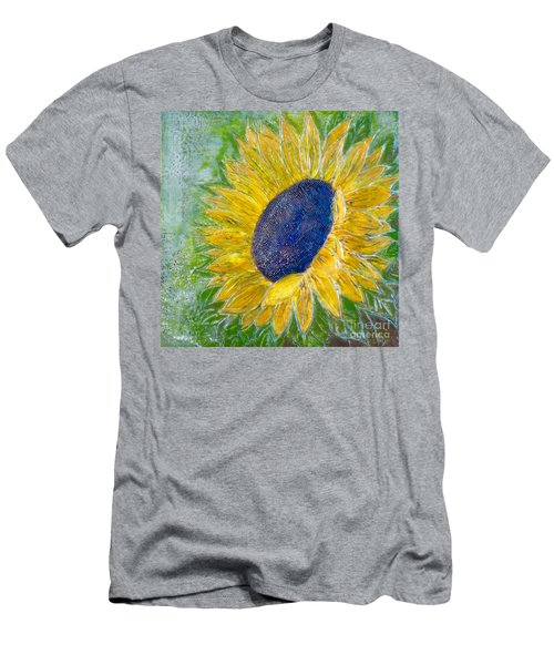Sunflower Praises Men's T-Shirt (Athletic Fit)