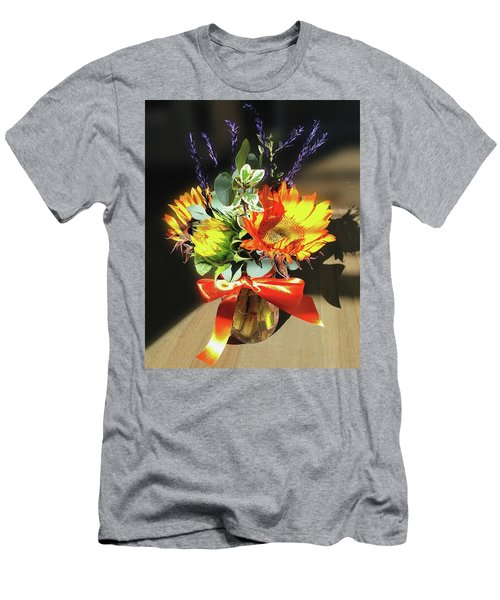 Sunflowers Fall Bouquet  Men's T-Shirt (Athletic Fit)