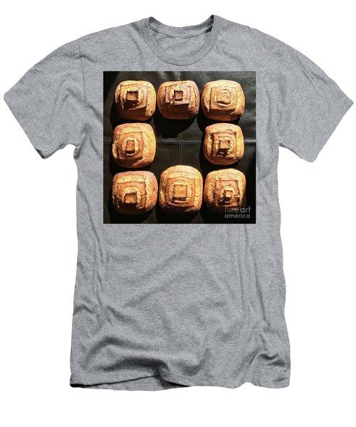 Sunny Sourdough Squares Men's T-Shirt (Athletic Fit)