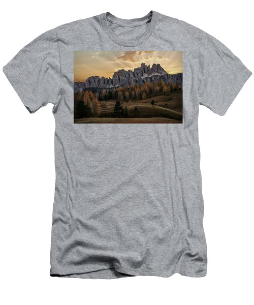 Sunrise In The Dolomites Men's T-Shirt (Athletic Fit)