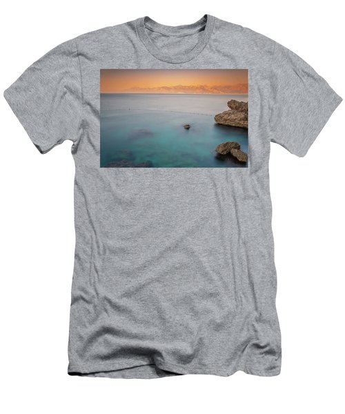 Men's T-Shirt (Athletic Fit) featuring the photograph Sunrise In Turkey by Francisco Gomez