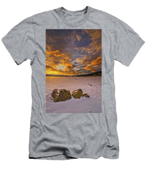 Sunrise Rocks Men's T-Shirt (Athletic Fit)