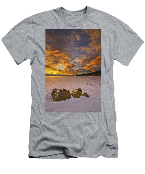 Sunrise Rocks Men's T-Shirt (Athletic Fit)