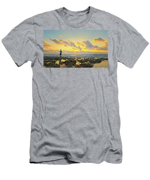 Sunrise Surf Fishing Men's T-Shirt (Athletic Fit)