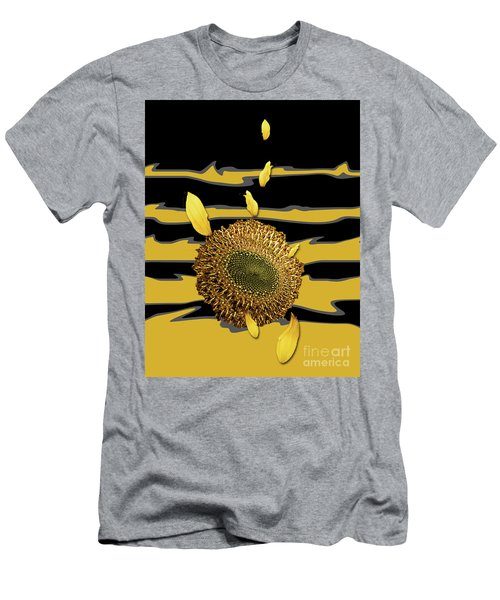 Sun's Flower Men's T-Shirt (Athletic Fit)