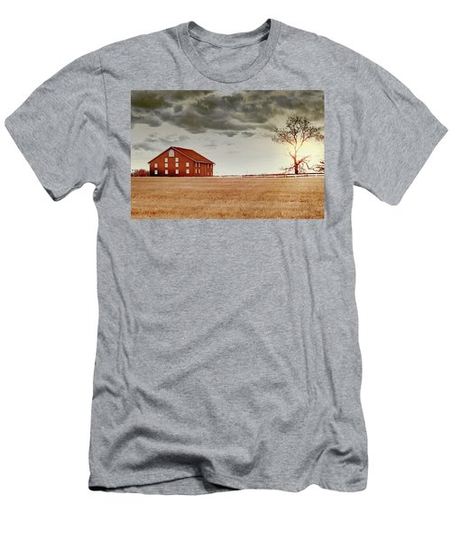 Sunset Barn Men's T-Shirt (Athletic Fit)