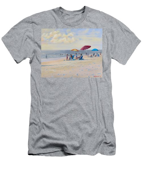 Sunset Beach Observers Men's T-Shirt (Athletic Fit)