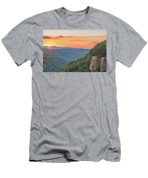 Sunset Flare Men's T-Shirt (Athletic Fit)