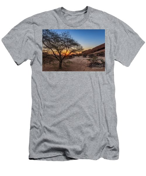 Sunset In Spitzkoppe, Namibia Men's T-Shirt (Athletic Fit)
