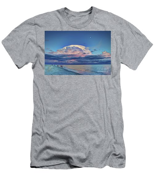 Sunset Over Sanibel Island Men's T-Shirt (Athletic Fit)