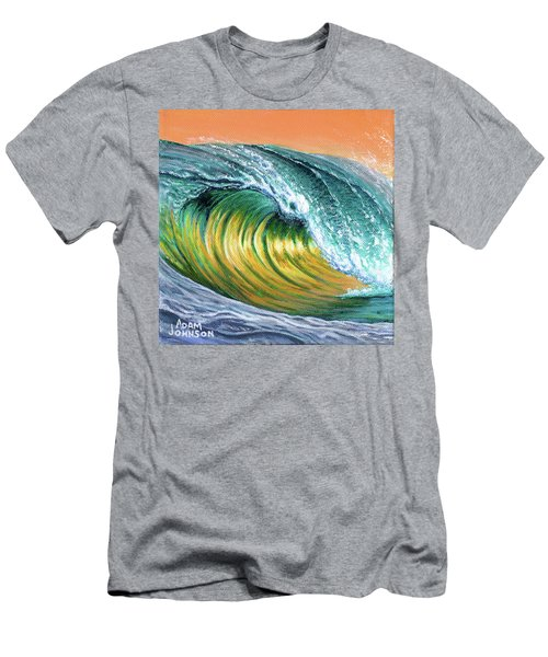 Surf Into The Sunset Men's T-Shirt (Athletic Fit)