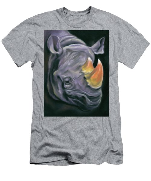 Surreal Candy Corn Rhinoceros Men's T-Shirt (Athletic Fit)