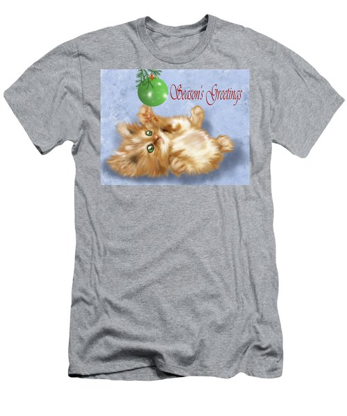 Tabby Greetings Men's T-Shirt (Athletic Fit)