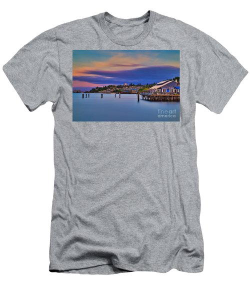 Tacoma, Point Ruston Men's T-Shirt (Athletic Fit)
